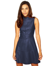 womens-leather-dress-with-back-zip-fastening