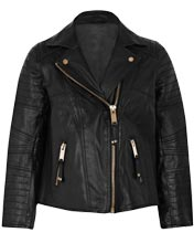 Trendy-padded-girls-leather-moto-jacket