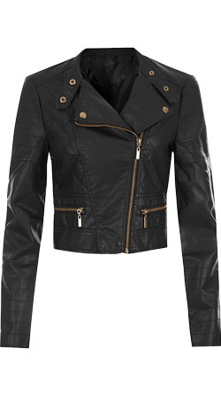 Chic Little Biker Jacket with Edge