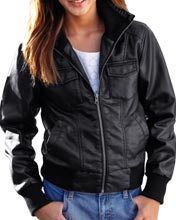 Fashionable-leather-jacket-with-wide-ribbed-detail