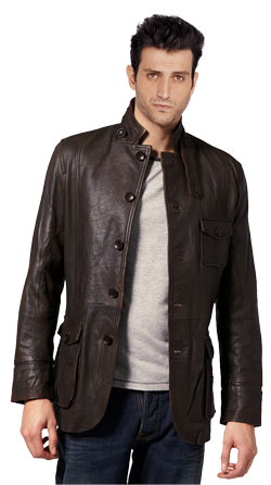 Cool Dude Leather Jacket for Men