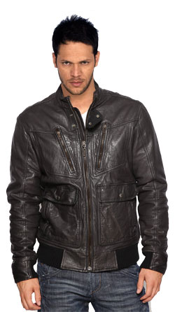 Chivalry Personified Leather Jacket for men