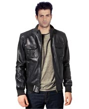 contrast-ribbed-trim-mens-leather-jackets