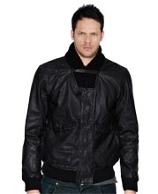 ribbed-collar-mens-leather-jacket