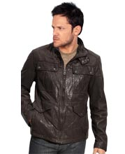 double-snap-collared-mens-leather-jacket