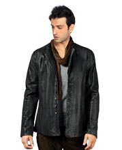 buttoned-cuffs-trendy-leather-jacket