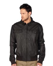 sturdy-leather-jacket-with-knitted-cuffs