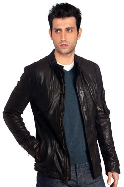 Leather Jacket with a Bad Boy Appeal