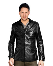 leather-jacket-with-shirt-patterned-collar