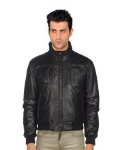 tasteful-leather-jacket-with-elastic-cuffs