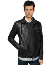 trendy-leather-jackets-with-collar-lace