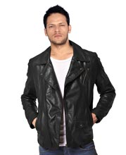 zipped-leather-jacket-with-overlapping-front-flaps
