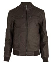 stylish-long- sleeved-mens-leather-jacket