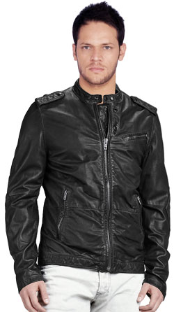 Bad Boy Inspired Mens Leather Jacket