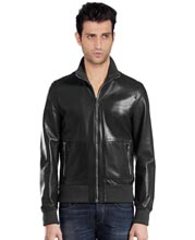 knit-collar-mens-leather-jacket