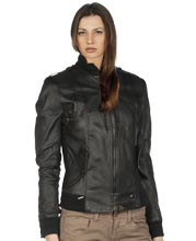 Womens leather jackets - cheap black leather jackets for women