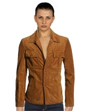 Affluent Leather Jacket for Women