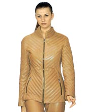 Accoutre Leather Jacket for Women
