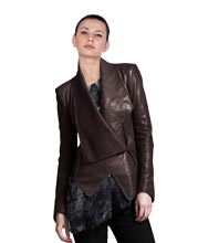 Edgy and Stylish Leather Jacket