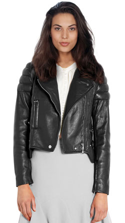 Trendy and Hip Leather Jacket