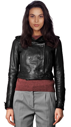 Super Trendy Leather Jacket for Women