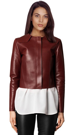 Classy and Stylish Leather Jacket for Women