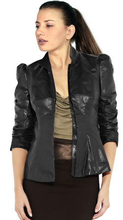 Urbane Chic Leather Jacket