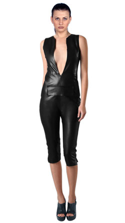 Large V Neckline Jumpsuit Styled For Women