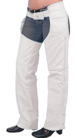 Baggy Leather Chaps for Women