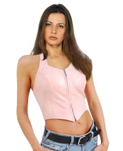 Classy and Sensuous Womens Leather Halter