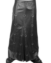 centre-pleated-mens-leather-kilts