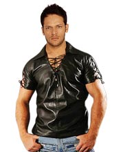 Laced-Leather-Shirts-for-Men
