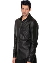 Bodycon-Leather-Shirts-for-Men