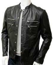 Stylishly-Detailed-Mens-Leather-Shirt