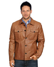 leather-shirt-with-trendy-button-flaps-and-closure