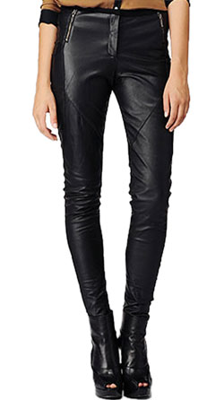 Dainty Leather Pant for Women
