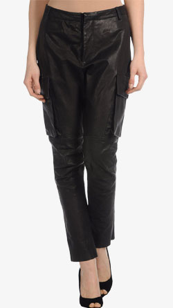 Chic- Rock Style Leather Pant For Women