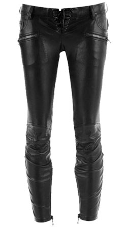 Skinny And Body-Hugging Designer Leather Pant For Women