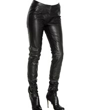 pure-femme-leather-trouser-with-ankle-zip-design