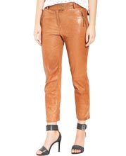 trendy-looking-ankle-reach-leather-pant