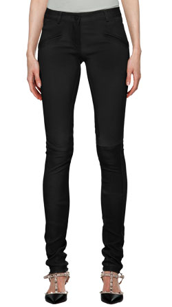 Gorgeous Patchy and Trendy Looking Leather Pant