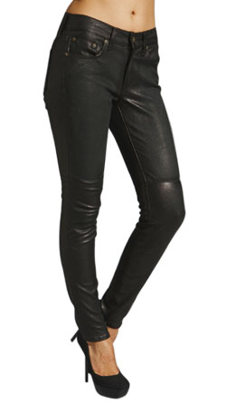 Decent Casual Style Fitting Leather Pant