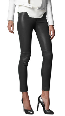 Startling Ankle Reach Leather Pant