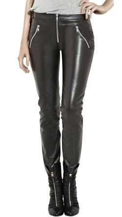 Stylish Strong Looking Womens Leather Pants
