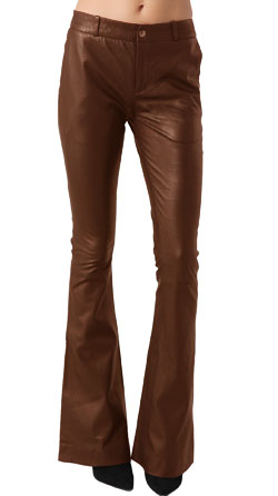 Vintage Trend Leather Pant for Girls