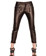 Teenage Style Funky Leather Pants