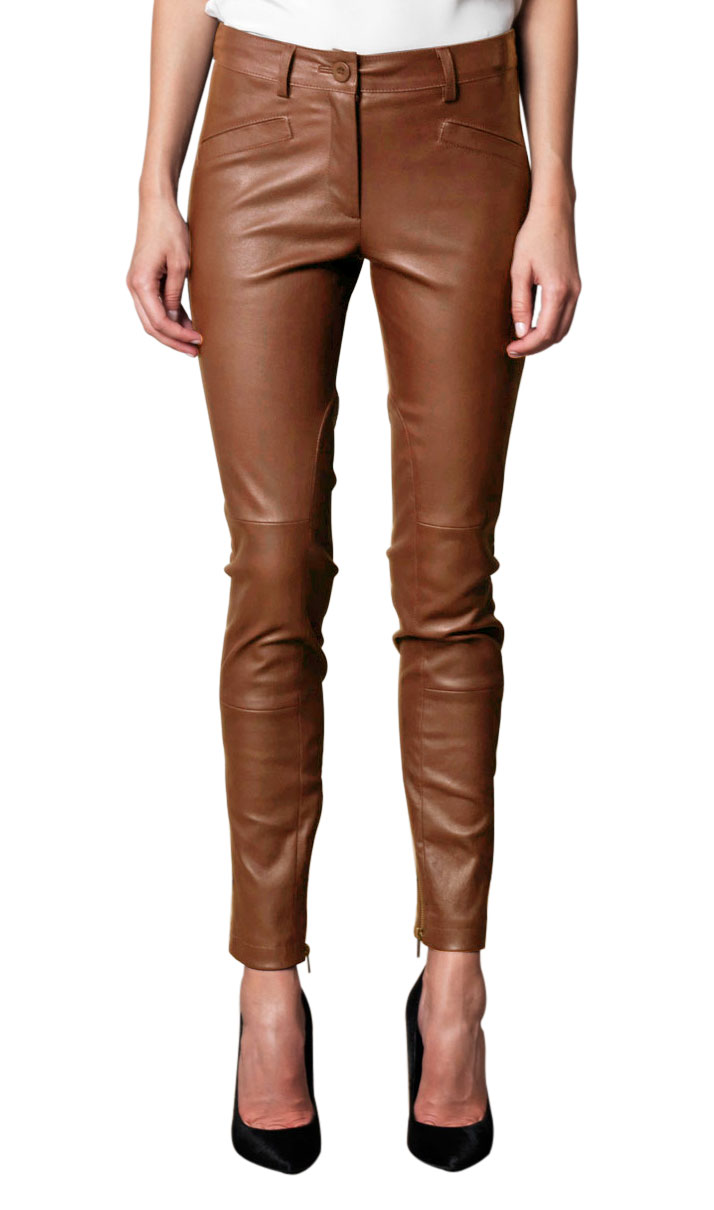 Awesome Alfa Img  Showing Gt Womens Brown Leather Pants