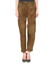 Regal Suede Leather Pants