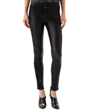 Skin Fit Sultry Leather Pant