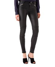 Supple Biker Inspired Leather Pants